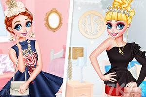 《公主的时装表演》游戏画面1