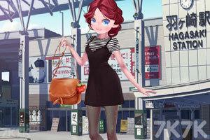 《漂亮女孩圣诞购物》游戏画面2