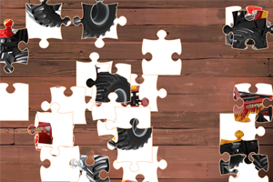 《怪物卡车拼图挑战》游戏画面1