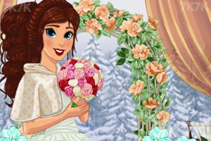 《美丽的冬季婚礼》游戏画面1