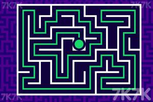 《绿球过迷宫》游戏画面3