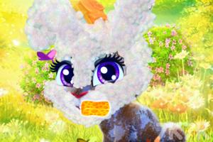 《照顾开心小兔》游戏画面3