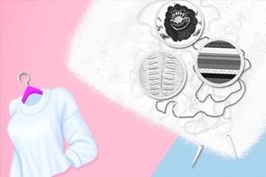 《设计舒适的毛衣》游戏画面1