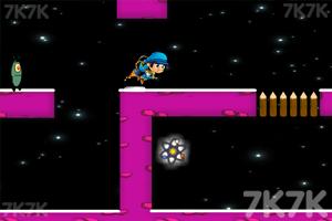 《蓝男孩历险记》游戏画面2