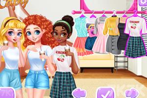《女孩们的休息日》游戏画面3
