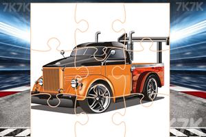 《改装车辆拼图》游戏画面3