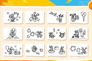 《小老鼠图画册》游戏画面2