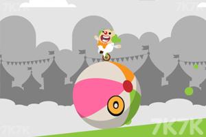 《小丑独轮》游戏画面2