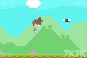《带帽男孩跑酷》游戏画面2