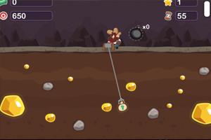 《黄金矿工挑战》游戏画面1