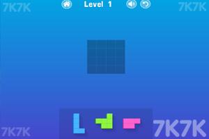 《彩色方块拼图》游戏画面2