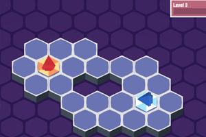 铺满六边形