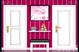 《逃离粉色调房子》游戏画面3