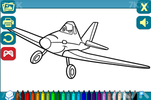 《小飞机图画册》游戏画面1
