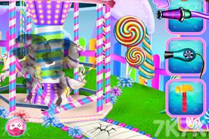 《打扫糖果公园》游戏画面1