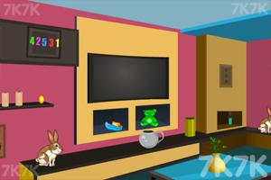 《救援复活节小兔》游戏画面2