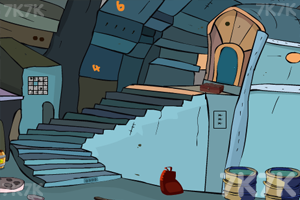 《地下小镇逃生》游戏画面1