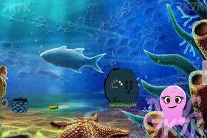 《救援海底章鱼》游戏画面1