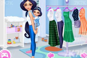 《时尚的大小公主》游戏画面3