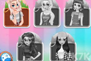 《夏令营的公主们》游戏画面2