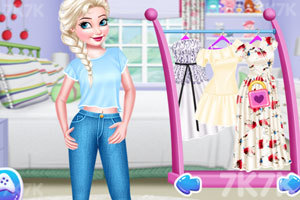 《公主们的时尚夏装》游戏画面2