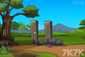 《部落森林洞穴逃脱》游戏画面1
