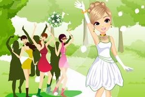 《新娘掷花束》游戏画面1