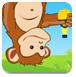 猴子摘水果榨汁
