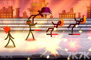《火柴人街头打手》游戏画面2