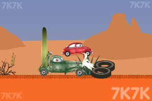 《大车吃小车》游戏画面2