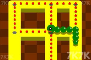 《豆豆贪吃蛇》游戏画面1