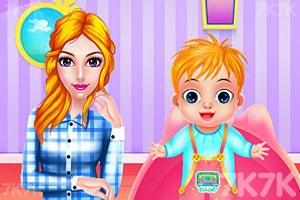《妈妈和宝贝的假日》游戏画面4
