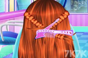 《宝贝的创意发型》游戏画面5