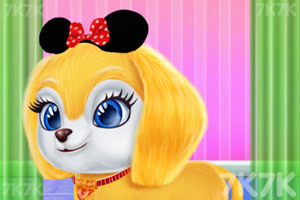 《宝贝的创意发型》游戏画面4