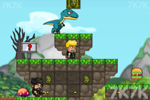 《迪诺兄弟丛林冒险》游戏画面3