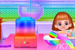 《彩虹獨角獸冰淇淋》截圖3