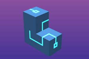 《旋转立方体》游戏画面1