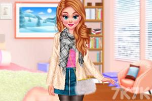 《冬季毛衣设计比拼》截图2