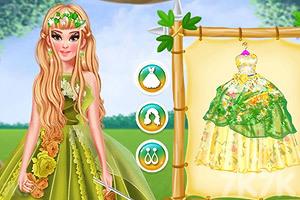 《四季公主的时装》游戏画面2