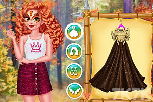 《四季公主的时装》游戏画面3