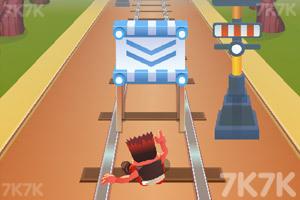《铁路跑酷无敌版》游戏画面3