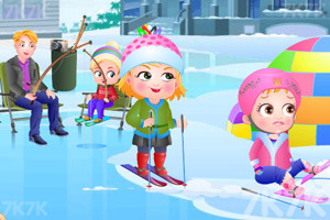 《可爱宝贝冬日乐趣》游戏画面5