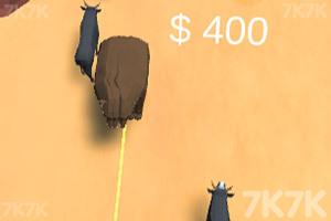 《牛仔套牛》游戏画面2