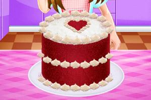 《美味红丝绒蛋糕》游戏画面1