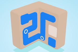 《旋转的方块》游戏画面1