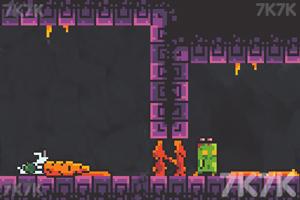 《小兔的黑洞冒险》游戏画面3
