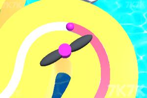 《小球障碍轨道》游戏画面1