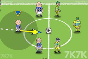 《弹射足球大赛》游戏画面2