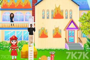 《宝贝泰勒消防员体验》游戏画面1