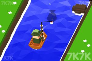 《快来钓鱼》游戏画面1